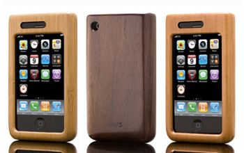 Vers Handmade Wooden and Bamboo iPhone Cases