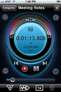 iProRecorder Makes It Easy to Record Voice and Dictation on the Fly