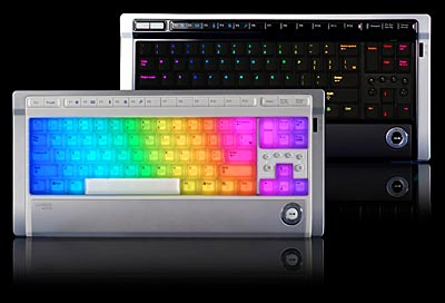 LED Illuminated Keyboard Lights Up Your Desktop Workspace