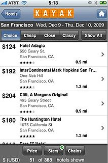 Book Flights and Hotels With Kayak's Updated iPhone App