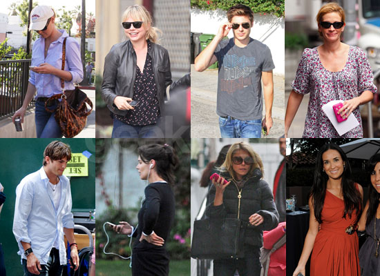 Who's Your Favorite iPhone Obsessed Celeb of 2009?