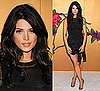 Photo of Ashley Greene Wearing Black Lace D&amp;G Outfit at Tim Burton MOMA Exhibit in NYC