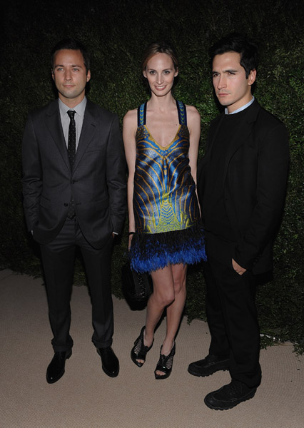 Lazaro Hernandez and Jack McCollough of Proenza Schouler and Lauren Davis