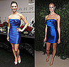 Marchesa Designer Georgina Chapman and Jacquetta Wheeler Wear Same Blue Marchesa Dress 2009-11-17 15:00:22