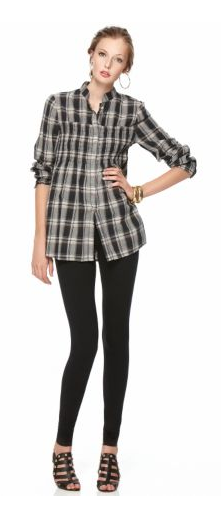 XCVI Plaid Millie Tunic