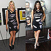 Fergie and Gwyneth Paltrow Wear Same Preen Metallic Cutout Dress