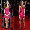 Sarah Jessica Parker Wears Hot Pink L&#039;Wren Dress to the UK Screening of Did You Hear About the Morgans?