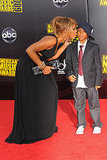 Toni Braxton Puckers Up