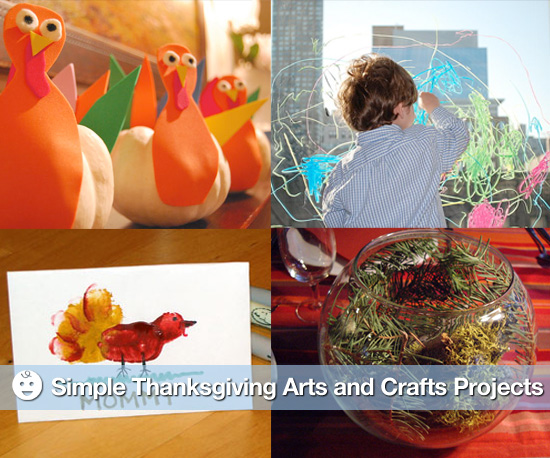 Thanksgiving Arts and Craft Projects