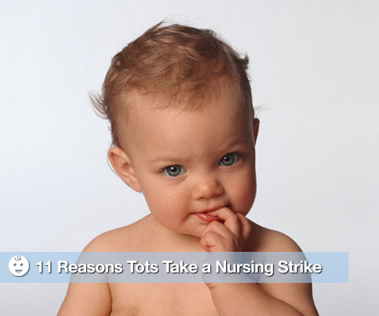 11 Reasons Tots Might Take a Nursing Strike