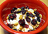 Cottage Cheese, Walnuts, and Craisin Snack