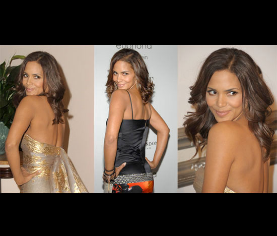 Halle Berry Works Her Upper Body