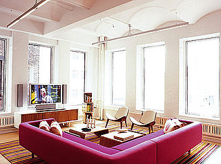 Coveted Crib: Pink Simplicity in Tribeca