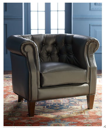 The Galena Tub Chair ($1,700) is a vegan version of this classic chair.