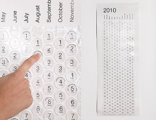 Love It or Hate It? Bubble Wall Calendar