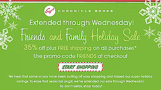 Sale Alert: Chronicle Friends and Family Sale