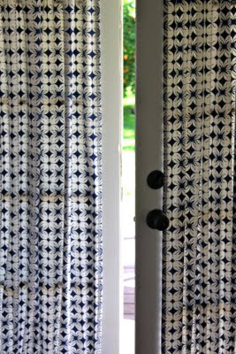 Prudent Baby helps you to whip up French door curtain panels.