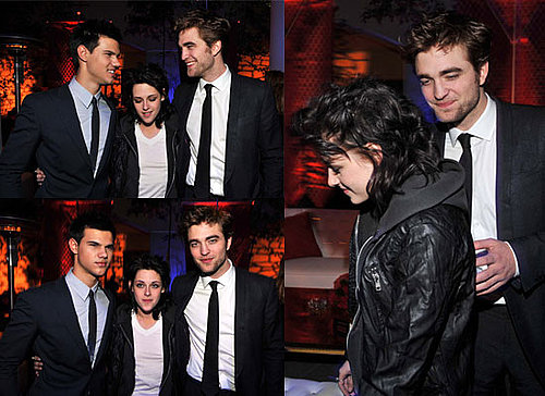 Photos of Robert Pattinson, Kristen Stewart and Taylor Lautner at New Moon LA Premiere After Party Pictures