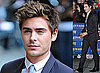 Photos of Zac Efron at David Letterman