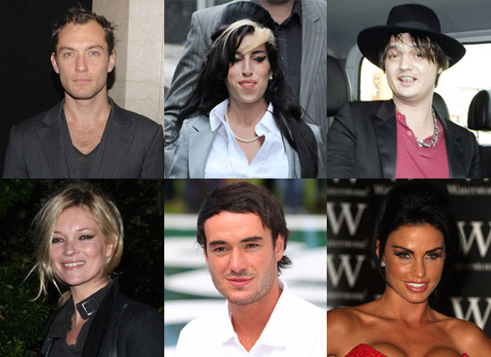 Best of 2009 PopSugarUK Series Who Is The Most Scandalous British Celebrity Poll Featuring Jude Law, Katie Price