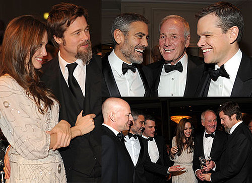 Photos of George Clooney, Angelina Jolie, Brad Pitt, Matt Damon, Selena Gomez, Bruce Willis and other Celebs at Unicef Ball