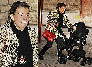 Photos of Coleen Rooney and Baby Kai Rooney Shopping in Liverpool, Pictures of Kai Rooney