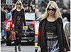 Photos of Claudia Schiffer in London on School Run