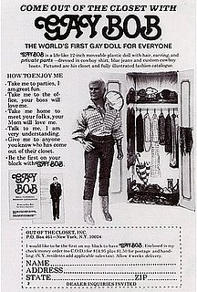 Gay Bob — World's First Gay Doll