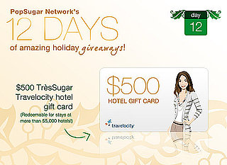 12 Days of Holiday Giveaways, Day 12:  Win a $500 Travelocity Hotel Gift Card!