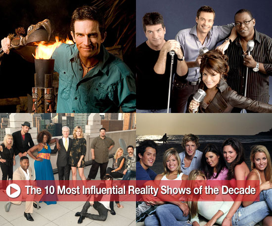 The 10 Most Influential Reality Shows of the Decade