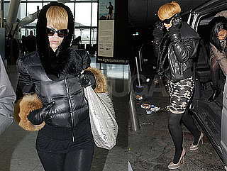Photos of Rihanna at London's Whiskey Mist Club, Leaving From Heathrow