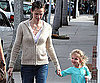 Photo Slide of Jennifer Garner in LA With Violet Affleck
