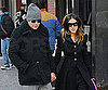 Photo Slide of Sarah Jessica Parker And Matthew Broderick in Snowy NYC