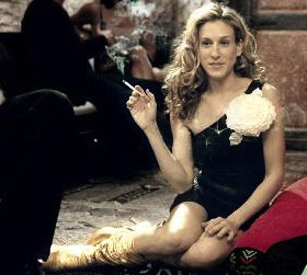 Carrie's Smoking Habit Isn't Cute
