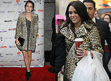 Photos of Celebrities in Leopard Print Coats 2009-12-21 06:00:01