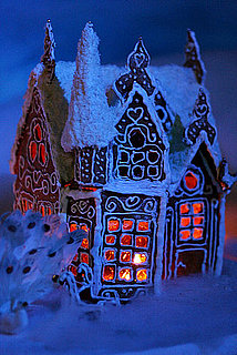 Gingerbread City in Bergen, Norway