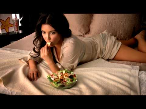 Kim Kardashian Carl's Jr. TV Commercial
