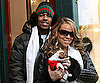 Slide Photo of Nick Cannon and Mariah Carey with New Puppy in Aspen