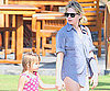 Slide Photo of Michelle Williams and Matilda in Hawaii