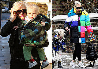 Photos of Gwen Stefani with Kingston Rossdale and Zuma Rossdale in London