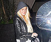 Slide Photo of Lindsay Lohan Leaving Roosevelt Hotel