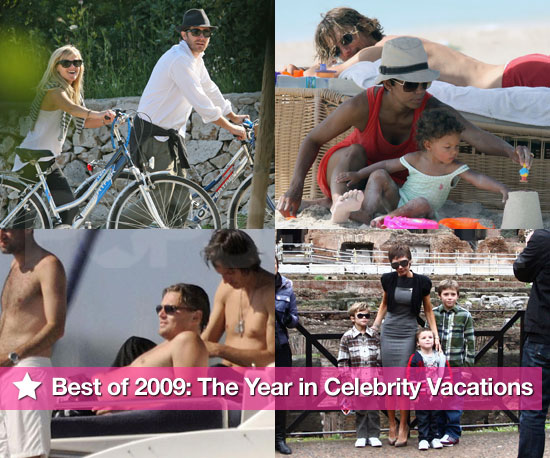 Photos of 2009 Celebrity Vacations Including Beyonce and Jay Z, Reese Witherspoon and Jake Gyllenhaal and Suri Cruise