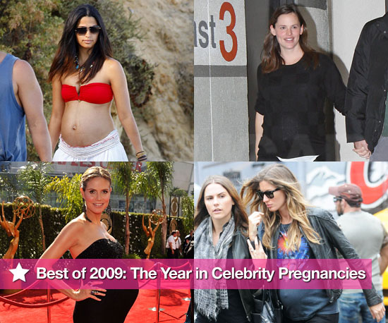 Best of 2009: The Year in Celebrity Pregnancies