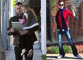Photos of Jennifer Garner Lunching; Violet Affleck With Ben Affleck in LA