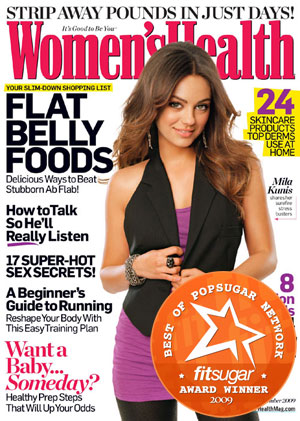 FitSugar Readers Choose Women's Health as Favorite Health Magazine