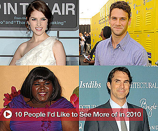 Entertainment People I'd Like to See More of Next Year