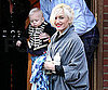 Slide Photo of Gwen Stefani and Zuma Visiting Family in England