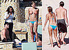 Photos of Shirtless Leonardo DiCaprio and Bikini-Clad Bar Refaeli Together in Cabo