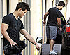 Photos of Taylor Lautner After a Workout