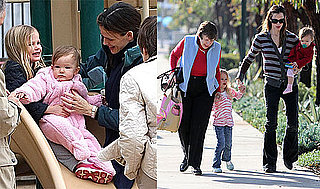 Photos of Jennifer Garner, Seraphina Affleck, and Violet Affleck Together in LA